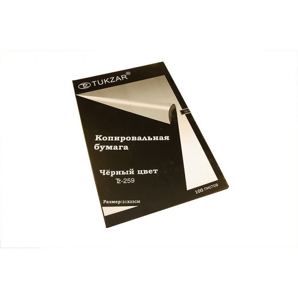 Копировальная бумага Tukzar 100 л. черная