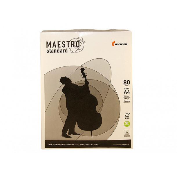 Бумага белая А4 (080 г/м) 500 л. Maestro