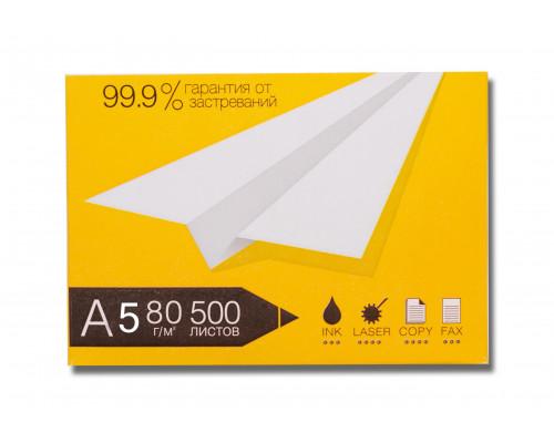 Бумага белая А5 (080 г/м) 500 л.