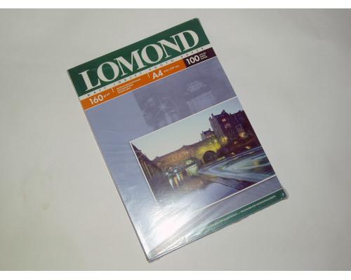 Фотобумага матовая Lomond A4 (160 г/м) 100 л.