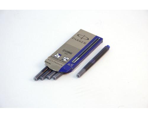 Капсула чернильная Parker (05 шт.) синяя