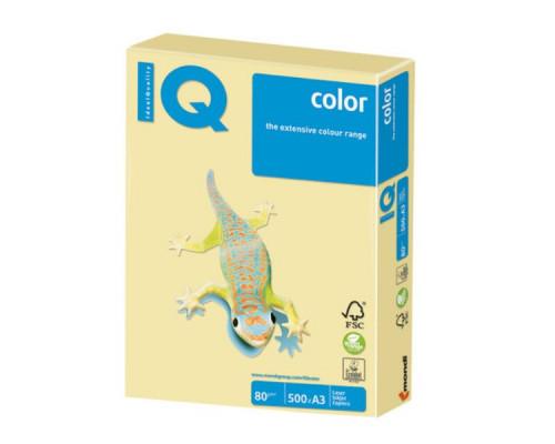 Бумага цветная A3 (080 г/м) 500 л. (желтый)