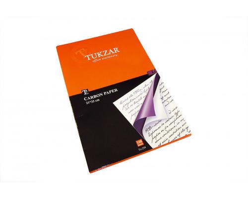 Копировальная бумага Tukzar 100 л. фиолетовая