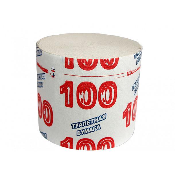 Бумага туалетная Крым 100, в уп. 20 шт.