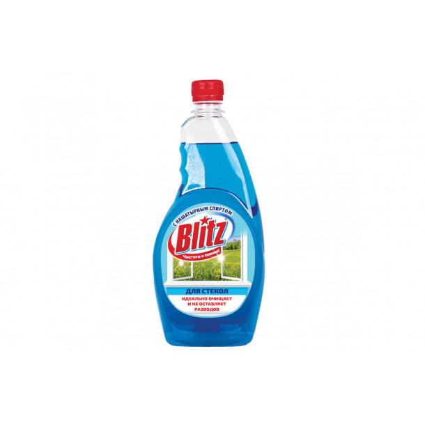 BLITZ д/стекол С нашатырным спиртом 500 гр(запаска)