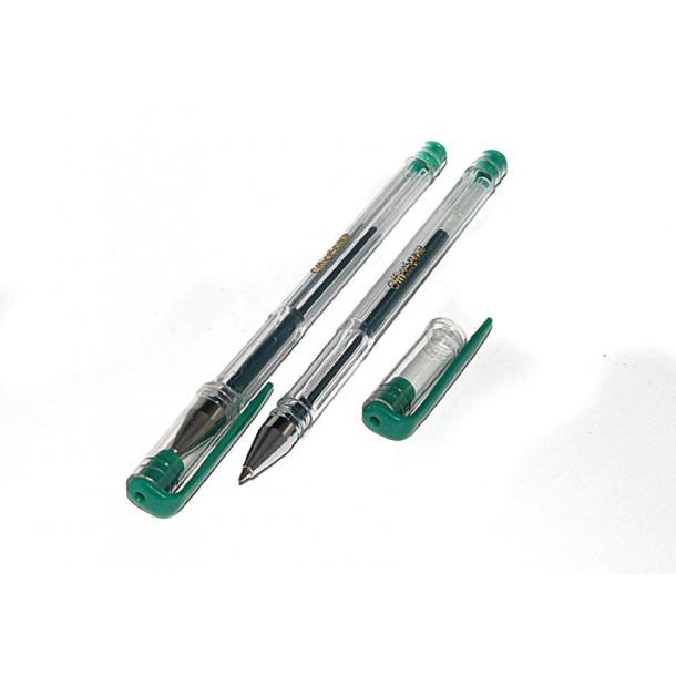 Ручка гелевая Space зеленая
