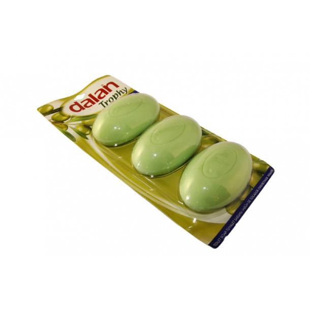 DALAN Мыло 90 г. Оливковое масло (3 шт.)