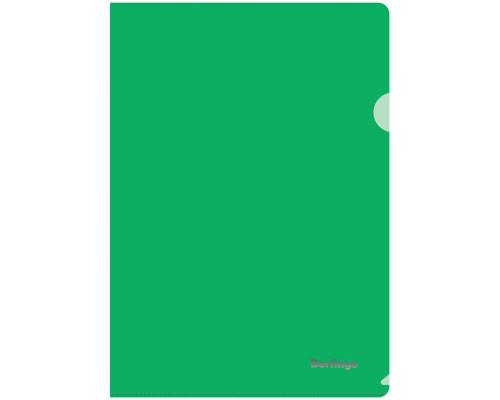 Папка-уголок Berlingo А4 плотный зеленый