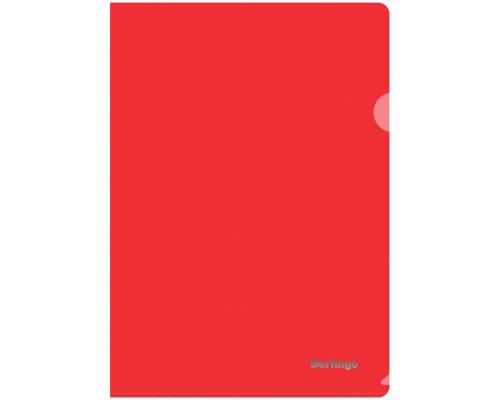 Папка-уголок Berlingo А4 плотный красный