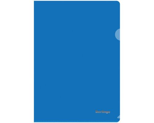 Папка-уголок Berlingo А4 плотный синий