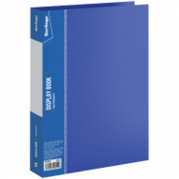 Папка на 100 файлов Berlingo А4 синяя