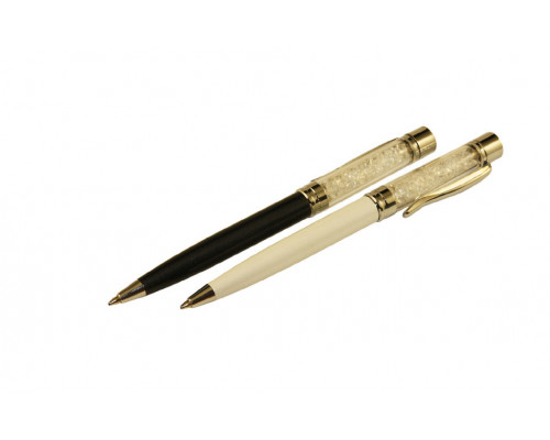 Ручка шариковая с поворотным механизмом Tukzar Crystal синяя