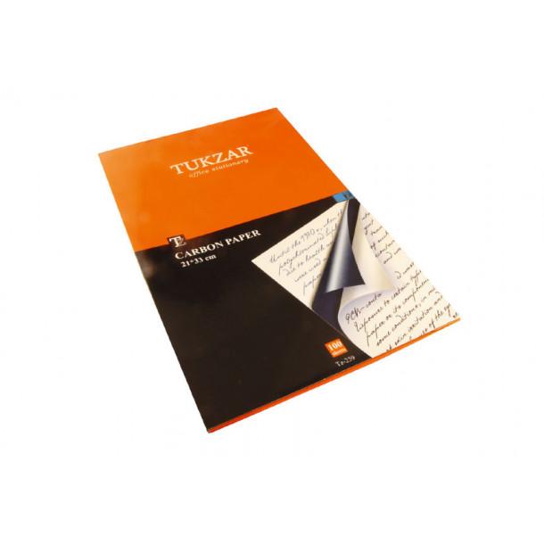 Копировальная бумага Tukzar 100 л. синяя