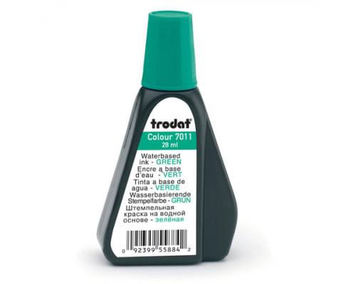 Краска штемпельная Trodat (028 мл.) зеленая