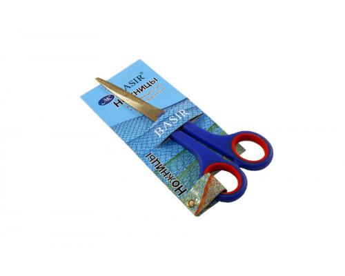 Ножницы универсальные Miraculous 17,5 см. (пластиковые ручки с резиновыми вставками)