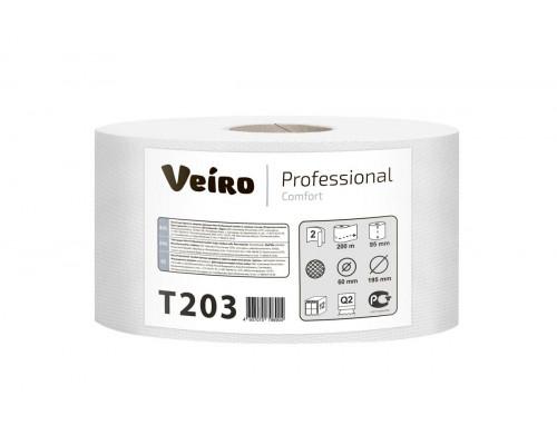 Veiro Proffessional бумага туалетная  2- сл Comfort 200м макулатурная