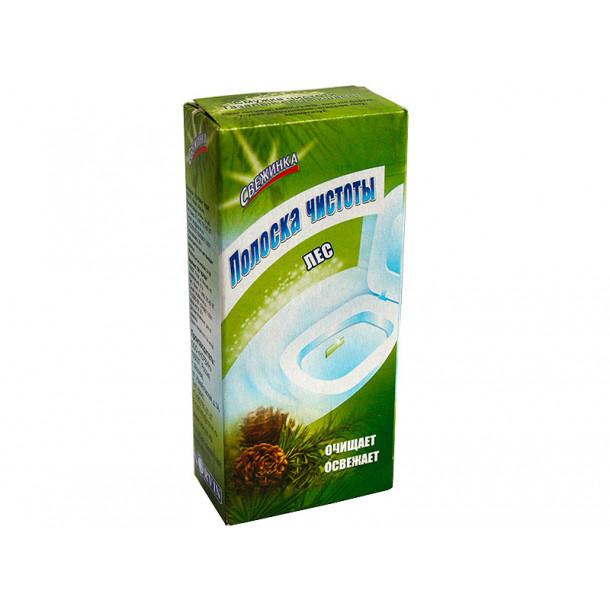 СВЕЖИНКА Полоска чистоты для WC  (3 шт) Лес