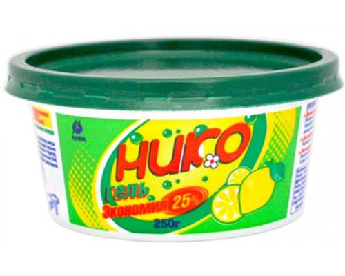 Нико гель для мытья посуды 250 г.
