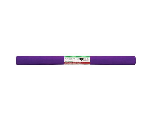 Бумага крепированная фиолетовая