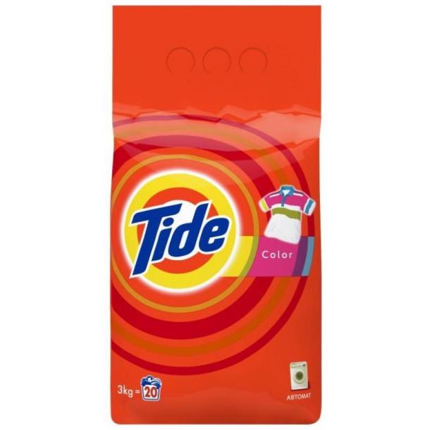Tide Аква-пудра с/п автомат Color 3 кг