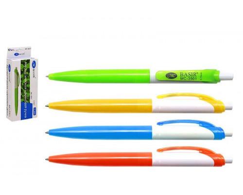 Ручка шариковая автоматическая Miraculous (3501) синяя