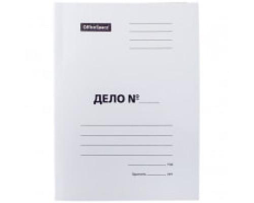 Папка картонная-скоросшиватель А4 плотная 400 г/м2