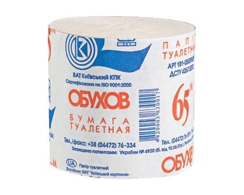 Бумага туалетная Обухов, в уп. 48 шт