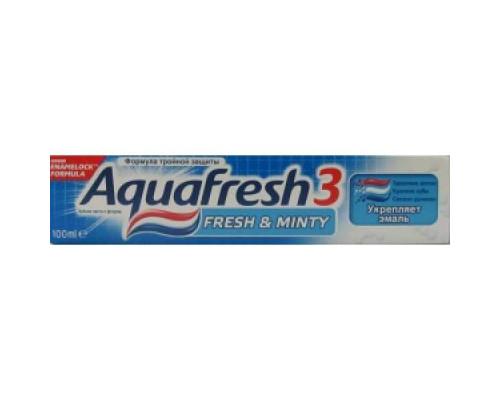 Aquafresh з/п  Fresh minty 100 мл