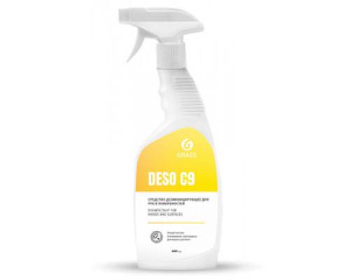 Deso С9  дезинфицирующее средство 600 мл. с распылителем