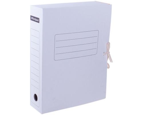 Папка-бокс на завязках  OfficeSpace А4 075 мм. картонная