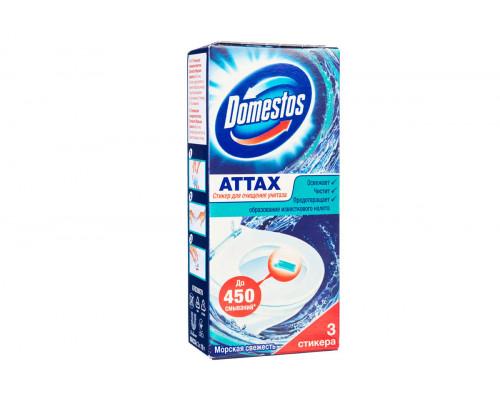 Domestos стикер для очищения унитаза (3шт)