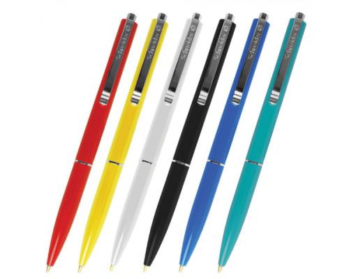 Ручка шариковая автоматическая Schneider синяя