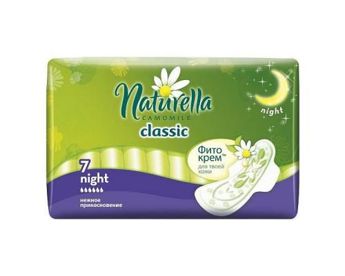 NATURELLA прокладки гигиен 6 шт Classic Night 6 капель