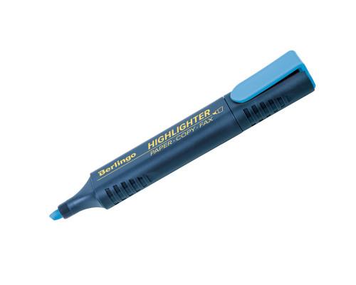 Маркер текстовый Berlingo (Т7015) голубой