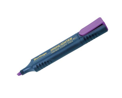 Маркер текстовый Berlingo (Т7014) фиолетовый
