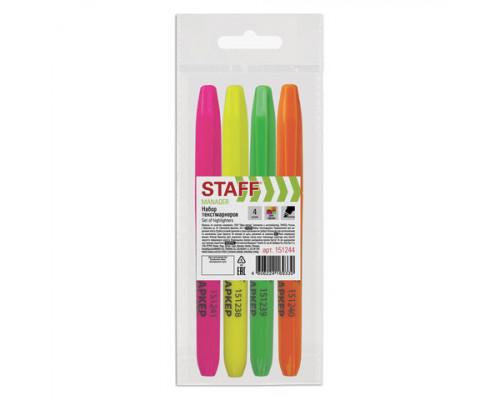 Набор маркеров текстовых Staff Basic 4 цвета