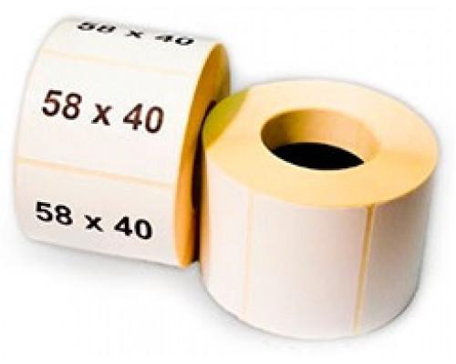 Этикет-лента 58х40 мм. (500 шт.) термо Эко