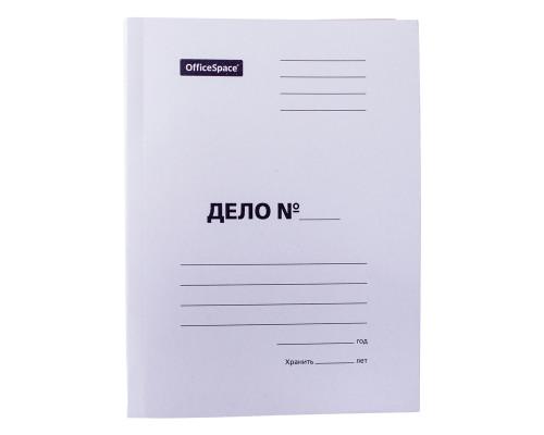 Папка картонная-скоросшиватель А4 плотная 300 г/м2