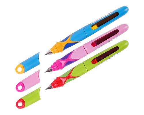 Ручка перьевая детская Berlingo Hibrid синяя ассорти