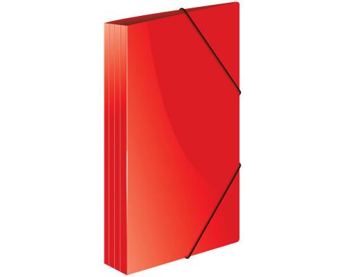 Папка с резинкой Berlingo A4 красная