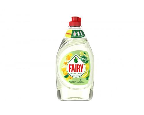 Fairy для посуды  450 мл Pure&Clean Бергамот и имбирь