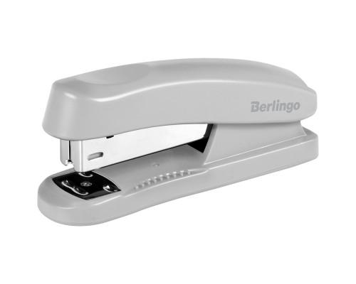 Степлер № 24/6 Berlingo 30 л. (H31002) серый