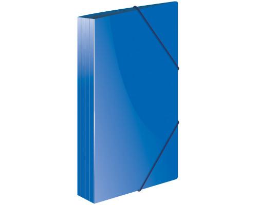 Папка с резинкой Berlingo A4 синяя