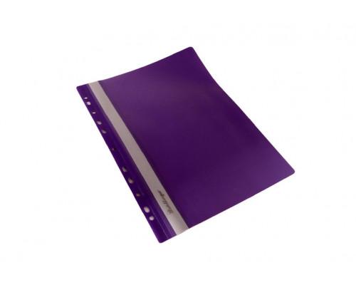 Папка-скоросшиватель с перфорацией Berlingo A4 фиолетовая