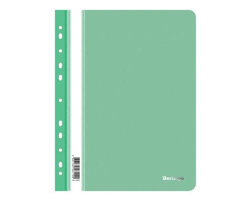 Папка-скоросшиватель с перфорацией Berlingo A4 зеленая