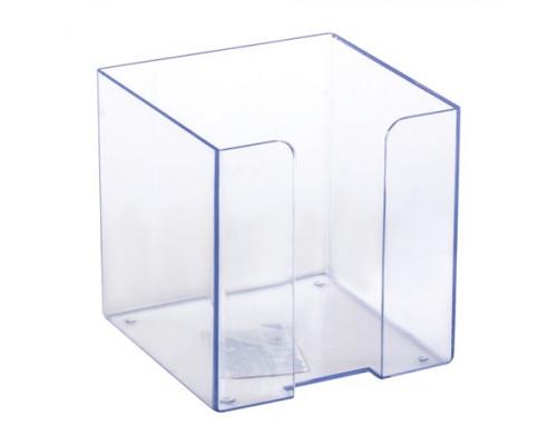 Подставка под бумагу для заметок Стамм прозрачная