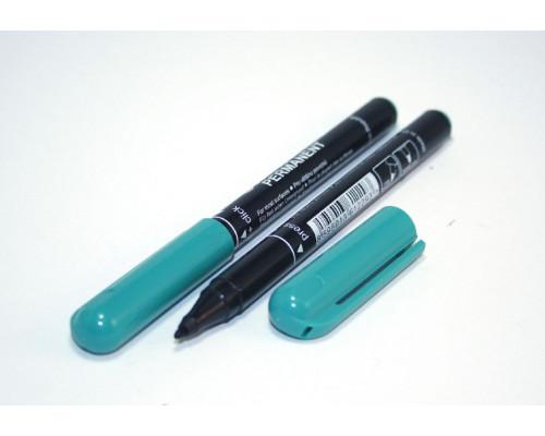 Маркер перманентный Centropen (2846) зеленый 1 мм