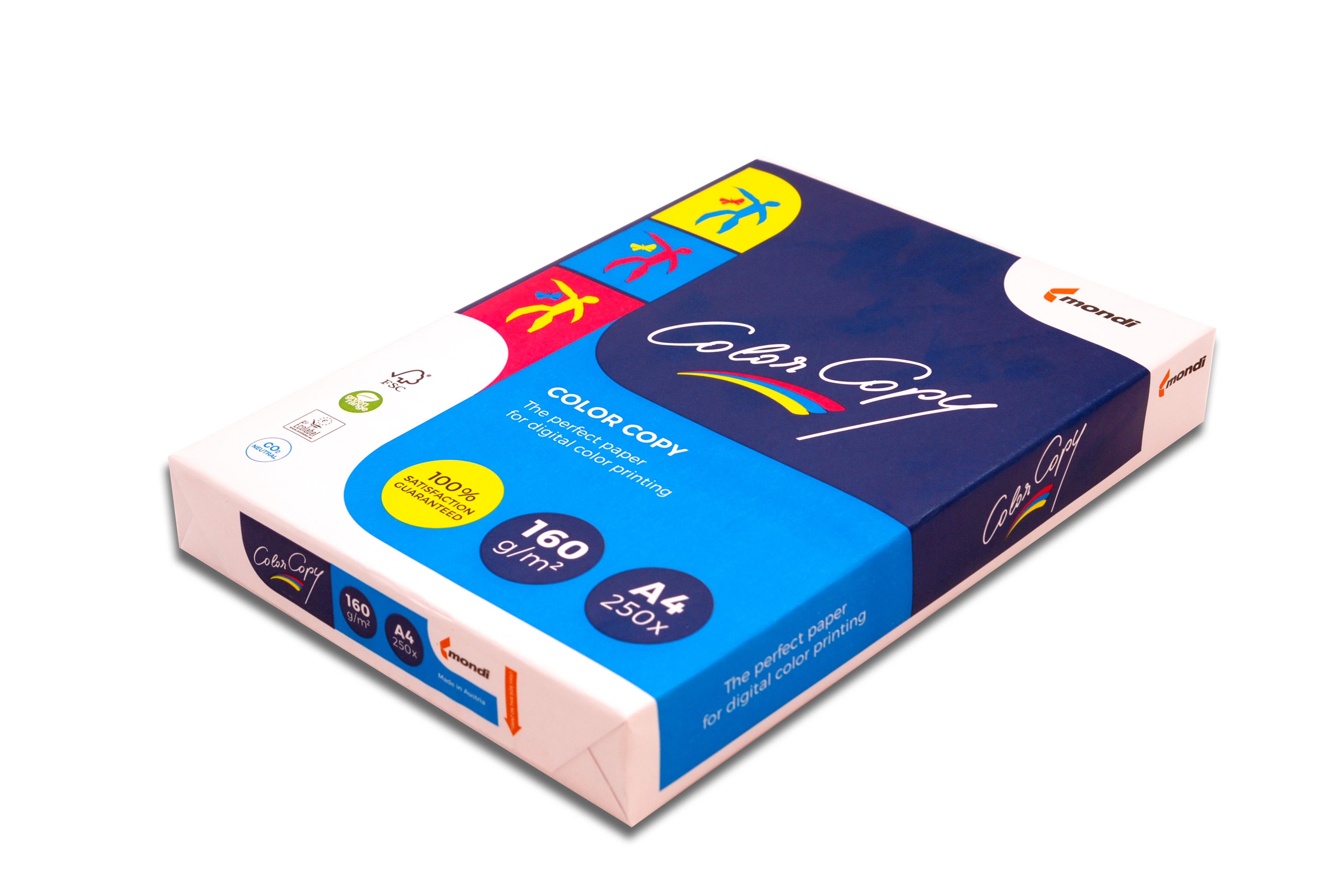 Бумага белая А4 (160 г/м) 250 л. Color Copy