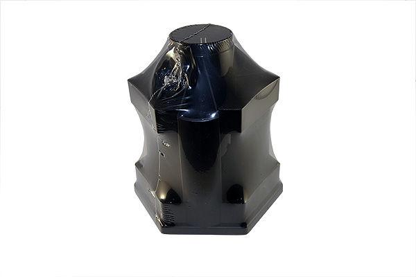 Пенал-вертушка Стамм Mini Desk 10 отделений черный