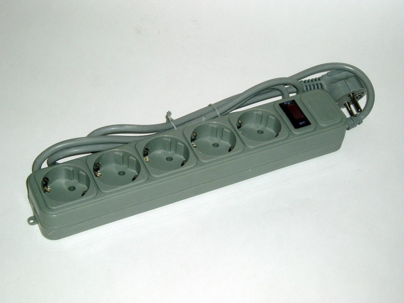 Фильтр сетевой 5 розеток (5,0 м.)